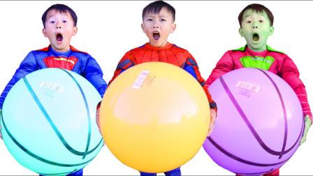 嘟嘟的亲子儿童乐园!小君太的巨型气球!