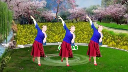 甜蜜情歌广场舞《多想做你最爱的人》优美动听,简单好看,沁人心扉的美附教学