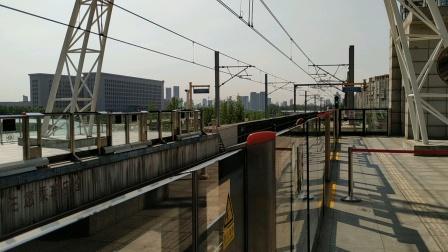 津滨轻轨9号线dkz7型列车(中车长客生产)的东芝电机vvvf声音,摄于市民广场站