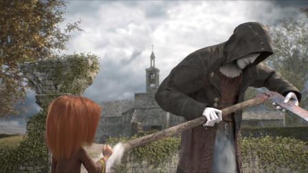 死神准备收割女孩的灵魂,结果镰刀却被她玩坏了,这可怎么办