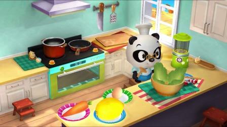 熊猫餐厅:看起来很美味!