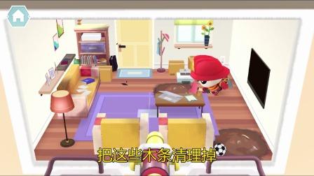熊猫消防队:房间里的小动物不见了~!