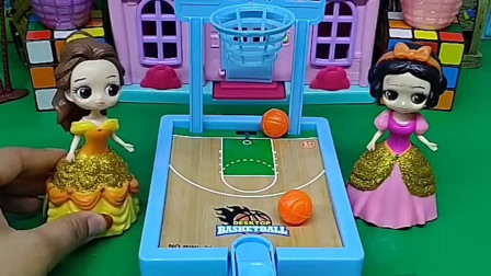 白雪贝尔比赛投篮,你觉得谁会赢呢?