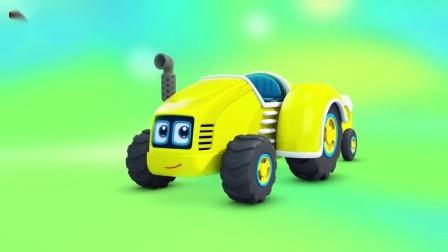 宝宝巴士:组个车队去农场帮忙!