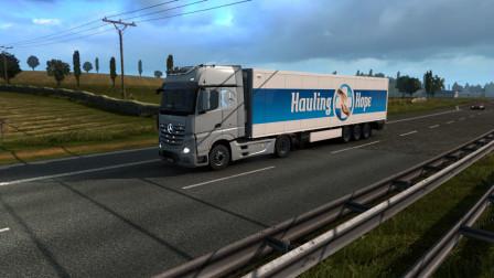 欧洲卡车模拟2|Euro Truck Simulator 2#11运输新冠疫苗活动