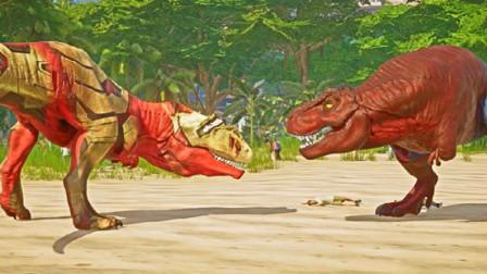 侏罗纪世界:巨人恐龙与巨兽恐龙,那个更厉害些那
