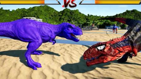 侏罗纪世界:巨兽龙看到霸王龙掉头就跑,这是为什么那