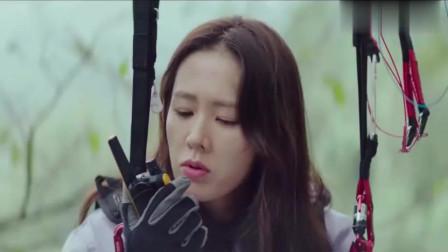 爱的迫降:看着在树上的尹世理,李正赫偷偷傻笑,你就是我的菜!