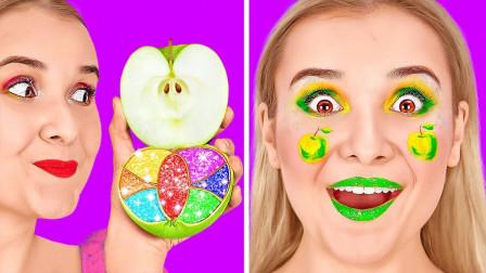 """如何将化妆品偷带进课堂?国外美女现场展示,""""烧脑""""操作太绝了"""