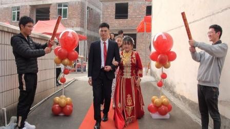 2021才溪镇樟坑塍王大铭先生&郭菲小姐  喜结良缘