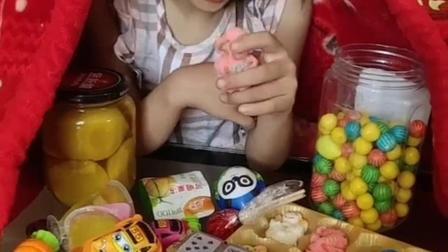 童年趣事:好多的小零食啊