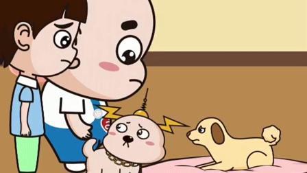 等待的小狗:小狗的主人还是没有回来!