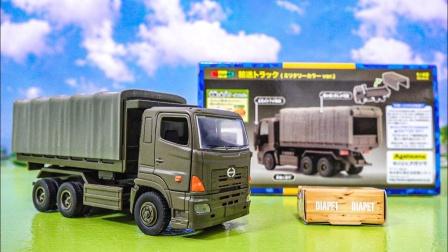 怎么拆开一辆大卡车?可以变身翻斗车吗?认识玩具车益智游戏
