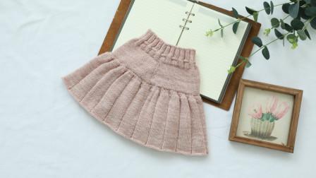 毛儿手作【第M496期】棒针编织印象羊毛花仙子小女孩裤裙视频教程