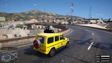 GTA5:毒液兼职跑出租车,结果还遇到搭霸王车的