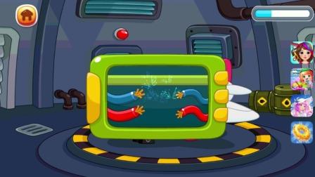 小鳄鱼历险记:快来修理飞机!