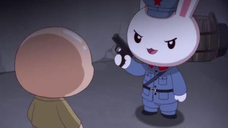秃子小心眼,大敌当前,竟还担心兔子偷袭他