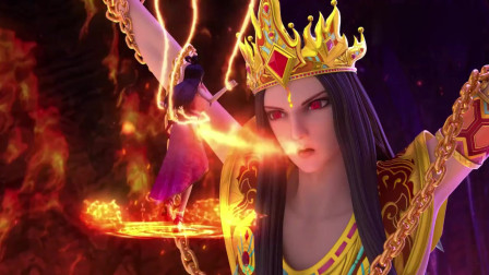 精灵梦叶罗丽:金王子真是可怕,被火关上,根本不能出来