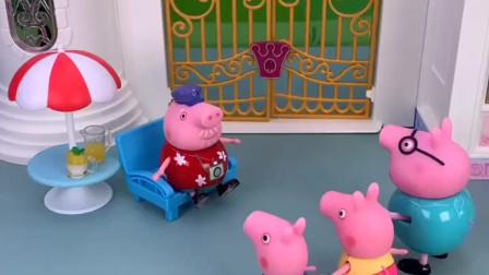 佩奇有礼貌人人夸,小松鼠不懂礼貌让人讨厌