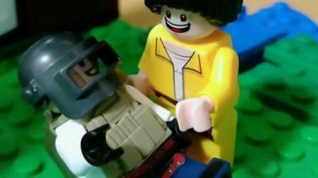 搞笑动画:大哥,我只想告诉你前面有人