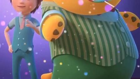 奶龙:大冬天的,我也来穿衣服了