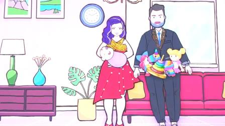 纸娃娃装扮:恶魔女孩和长发女孩,谁才小芭比的母亲呢