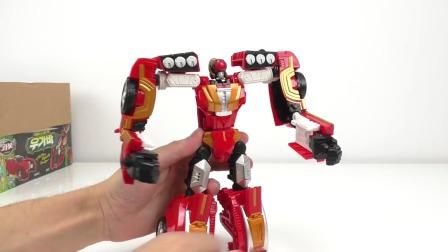 006红蜘蛛变形金刚玩具!颤抖吧,汽车人!