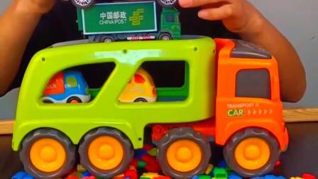童年趣事-小朋友们猜猜都有什么车啊!
