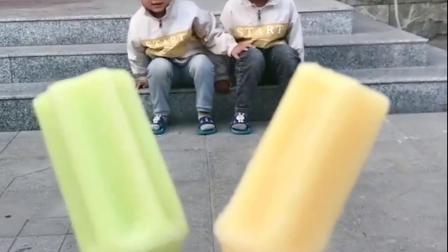 童年趣事-哥哥给你一个黄色的