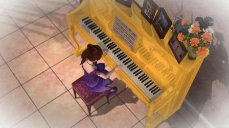 叶罗丽:孔雀的一个魔法,思思就成了顶级钢琴师,真的太酷了!