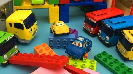 帮助小汽车们建一个休息屋