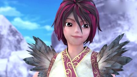 精灵梦叶罗丽:建鹏真是可爱,终于回来了,仙子拥抱他好开心