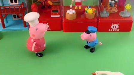 猪奶奶对佩奇一点也不关心,乔治不理奶奶了