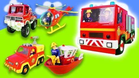 消防员和消防用具的故事