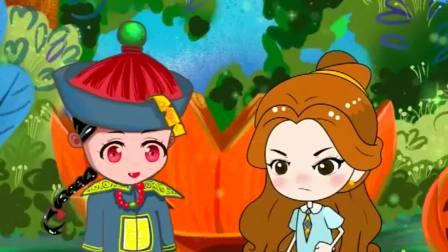 搞笑动漫,贝尔要保护童话王国,保护家人!