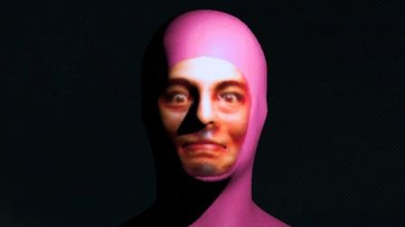 【粤语一期】我跟一个粉红色的家伙杠上了:恐怖游戏《PinkGuy》实况淡定解说