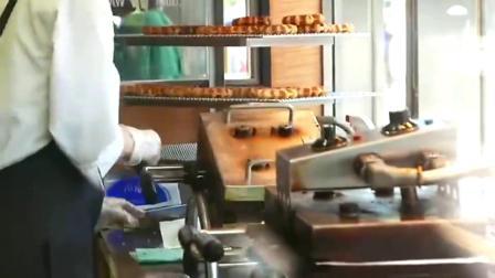 韩国人的抹茶华夫饼