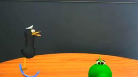 搞笑动漫,《鸭蛋船长》之跷跷板,快来看看