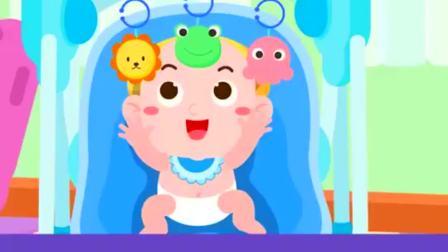 搞笑动漫,刚出生不久的宝宝,视觉和听觉哪个更敏感