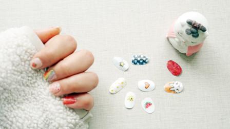 教你用纸巾DIY美甲片,步骤超简单,也不会伤指甲!