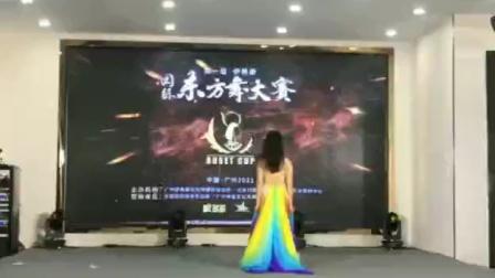 2021/元月《双纱独舞大赛》舞者,岑结群老师: