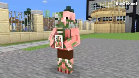 我的世界动画-怪物学院-猪人宝宝