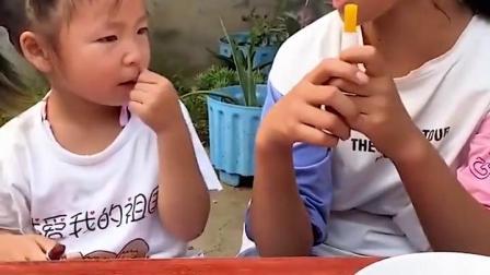 金色的童年:我也要吃口红糖