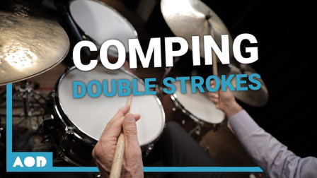 John Riley - Double Stroke Comping Exercise - Drum Lesson