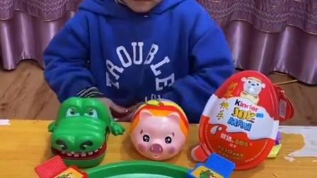 金色的童年:吃完饭玩青蛙吃豆子