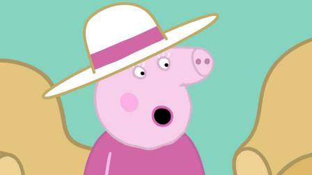 小猪佩奇:乔治想玩赛车,猪爷爷亲手为它做辆赛车,可真是太酷了