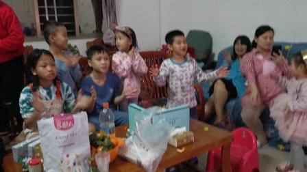 李佳菡三岁生日