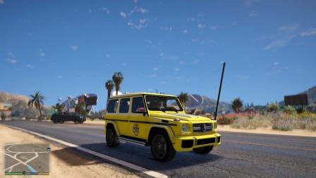 GTA5:发财小技巧,跑出租车原来工资那么高