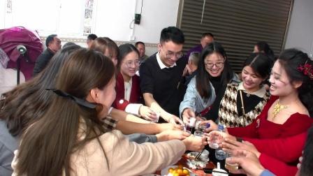 2021年1月25日旧县镇河东村温世强先生&陈舒婷小姐  喜结良缘
