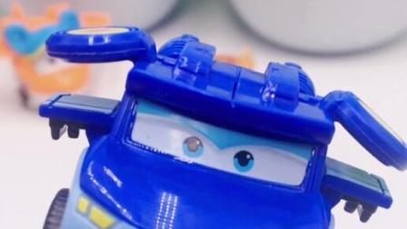 超级飞侠迷你机器人雷克变形玩具